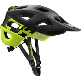 Mavic Crossmax Pro Cykelhjelm, black/safety yellow